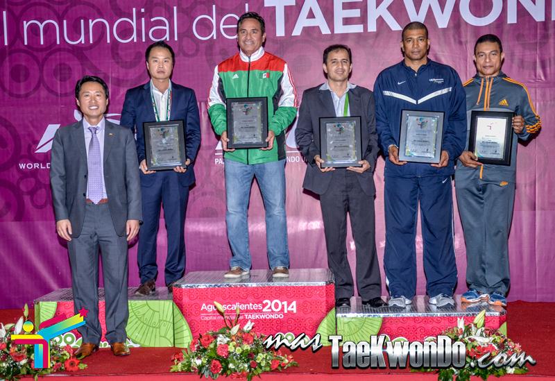 Podio General del Panamericano de Taekwondo 2014