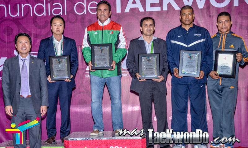 Podio General Panamericano de Taekwondo 2014