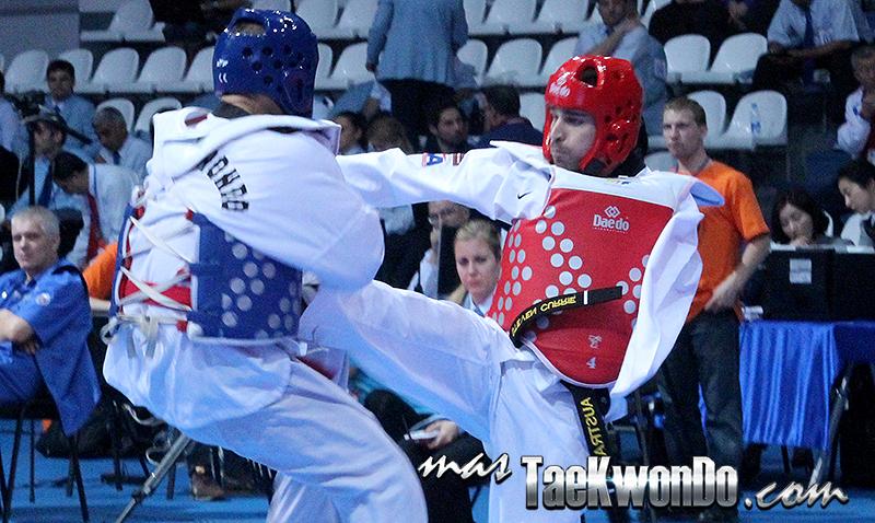 Mundial de Para-Taekwondo, Moscú 2014