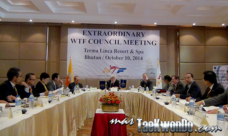 Extraordinary WTF Council Meeting - Buthan 2014