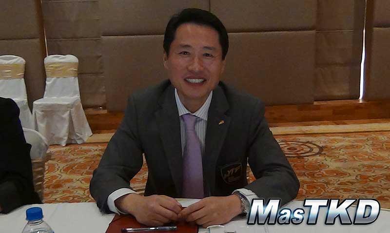 Ji Ho Choi, Presidente de la Unión Panamericana de Taekwondo