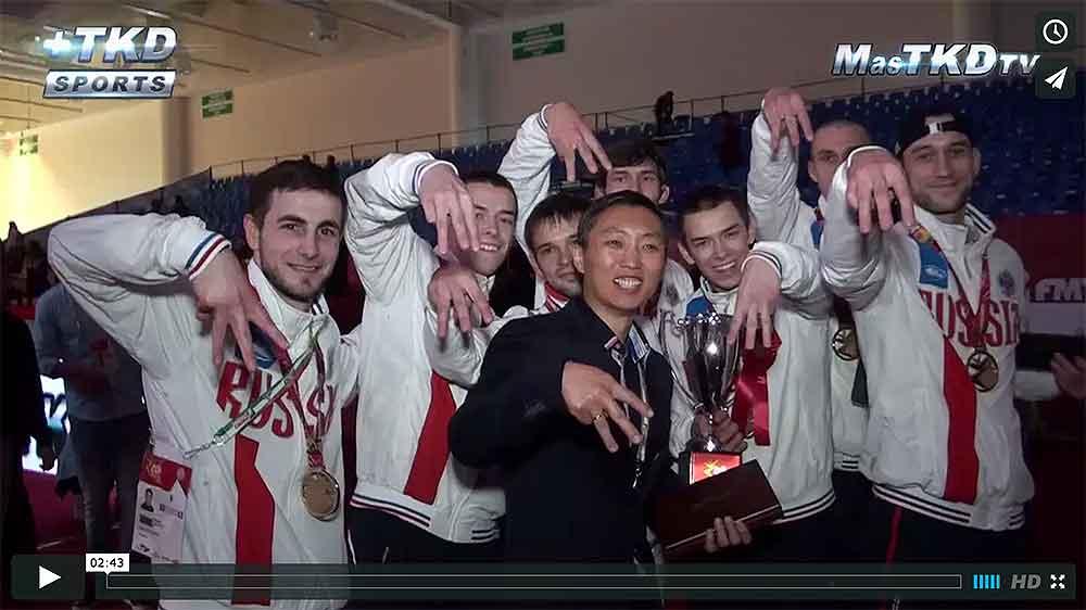 Rusia Campeon masculino de la Copa del Mundo de Taekwondo 2014