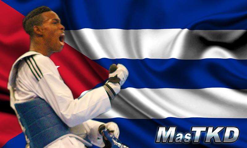 Cuba-Taekwondo-Flag