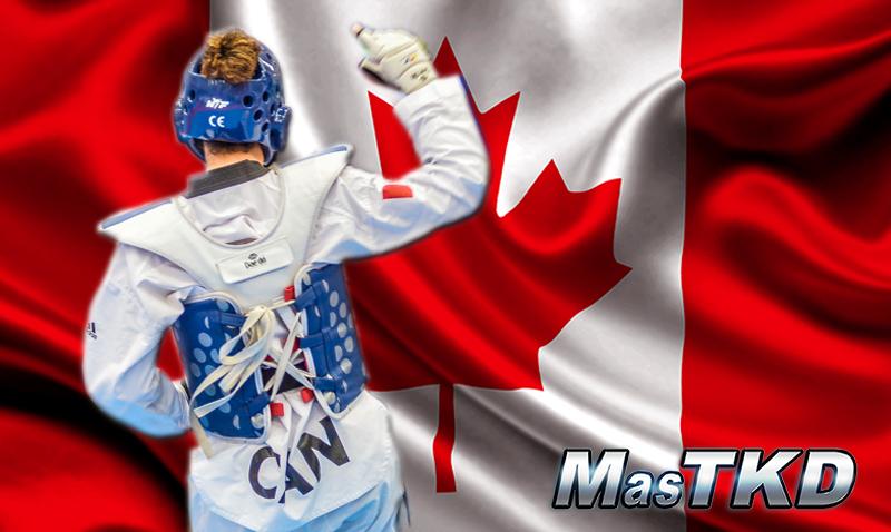 Taekwondo_Canada_Flag