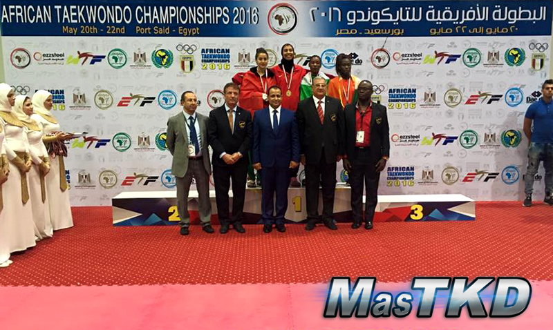 African-Taekwondo-Championship_Podium_