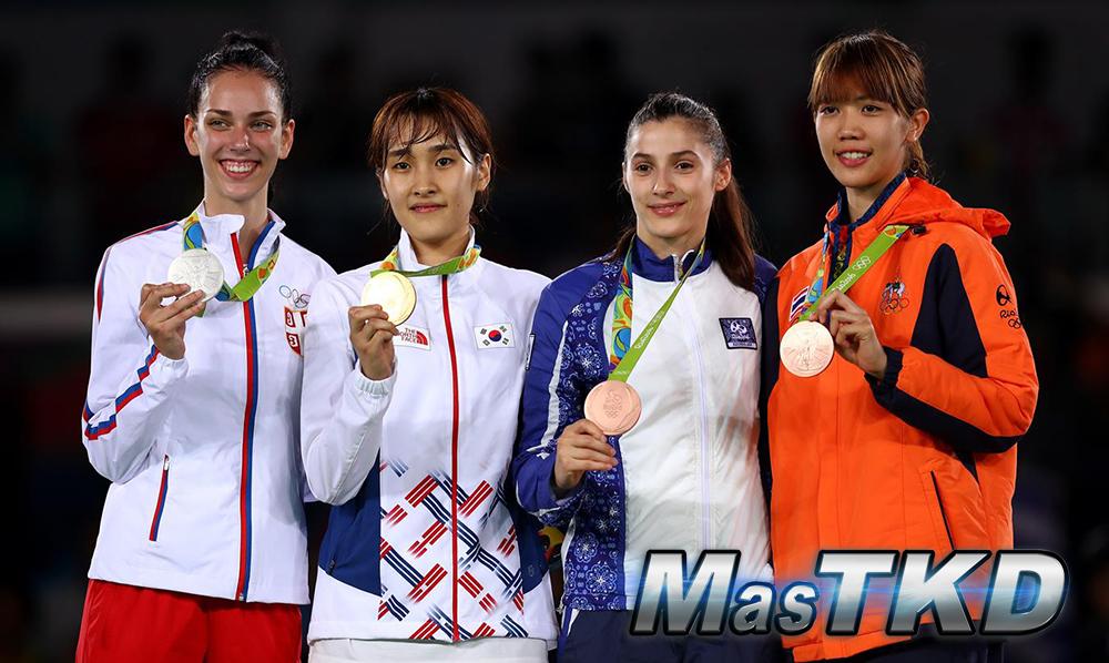 Podio_F-49_Taekwondo-Rio2016_