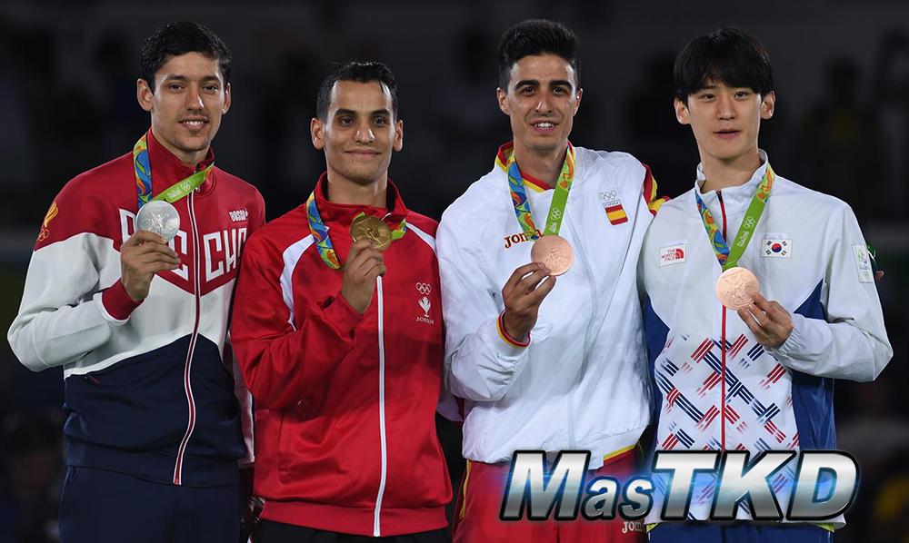 Podio_M-68_Taekwondo-Rio2016