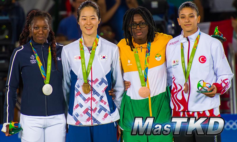 Podio_F-67_Taekwondo-Rio2016