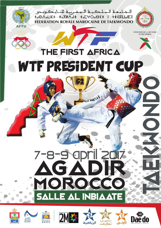 PRESIDENTSCUP-AFRICA-REGION-Taekwondo_Poster