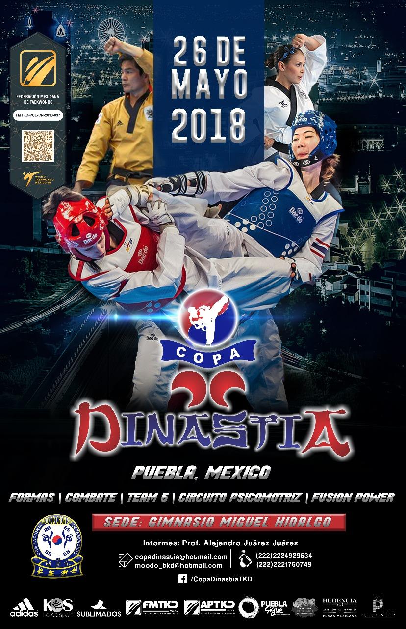 Cartel_Copa-Dinastia, Puebla, México