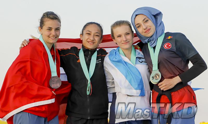 Podium_Rhodes-2018_World-Taekwondo-Beach-Championships