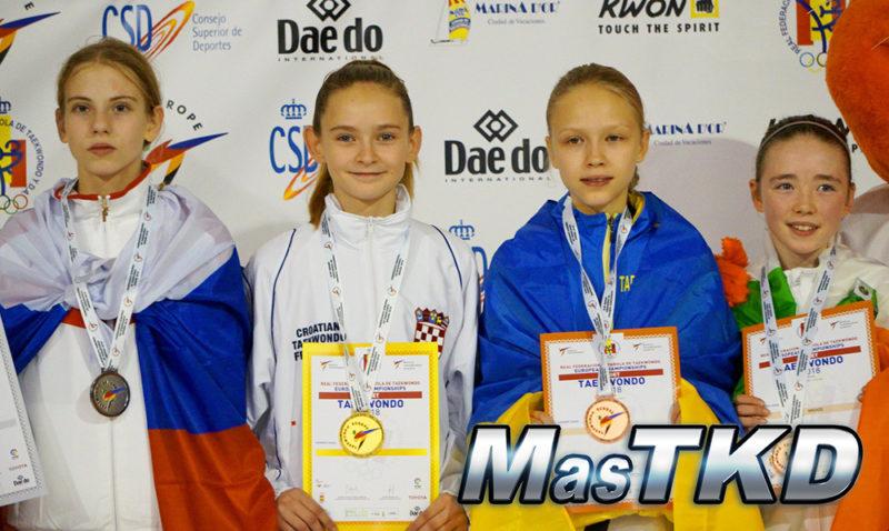 Podio_Europeo-Taekwondo-Cadete_BANTAM-Femenino_-37-Kg-