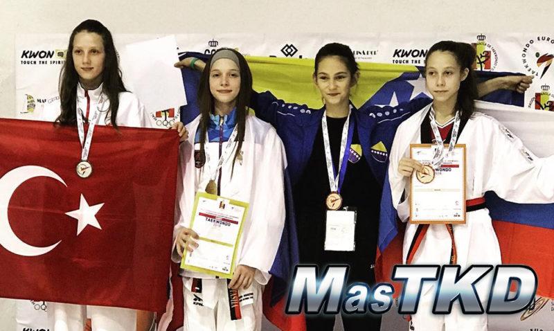 Podio_Europeo-Taekwondo-Cadete_WELTER-Femenino_-47-Kg