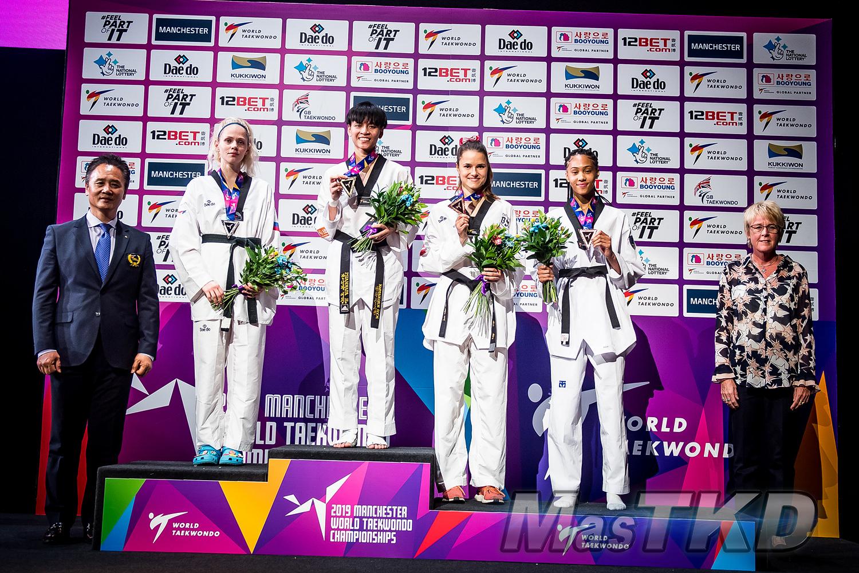 Podium_F-53_Manchester-2019-World-Taekwondo-Championships_mT-