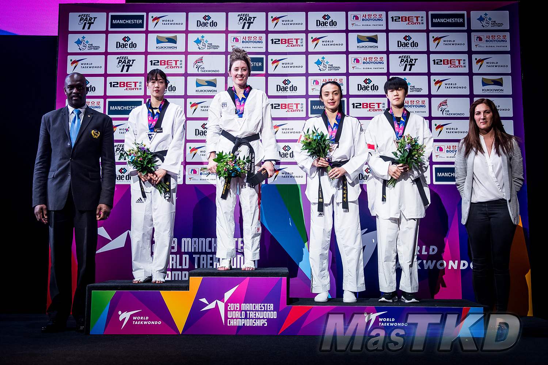 Podium_F-57_Manchester-2019-World-Taekwondo-Championships_mT-