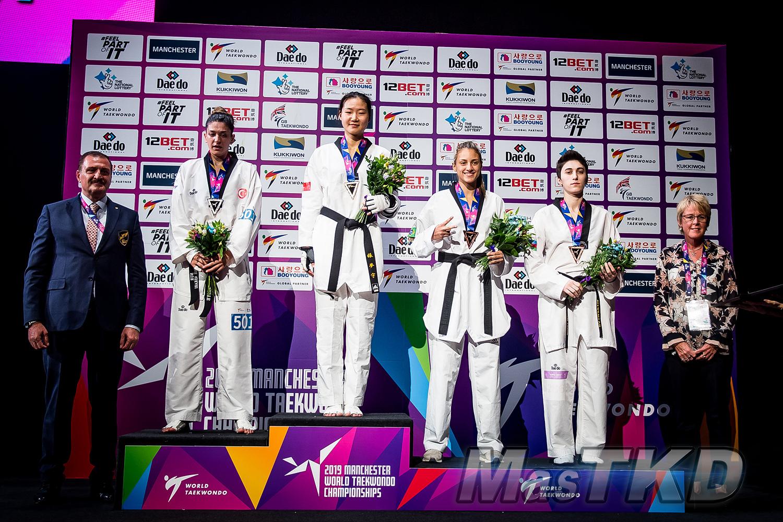 Podium_F-67_Manchester-2019-World-Taekwondo-Championships_mT