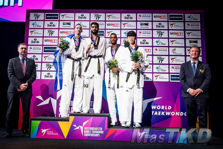 Podium_M-80_Manchester-2019-World-Taekwondo-Championships_mT-