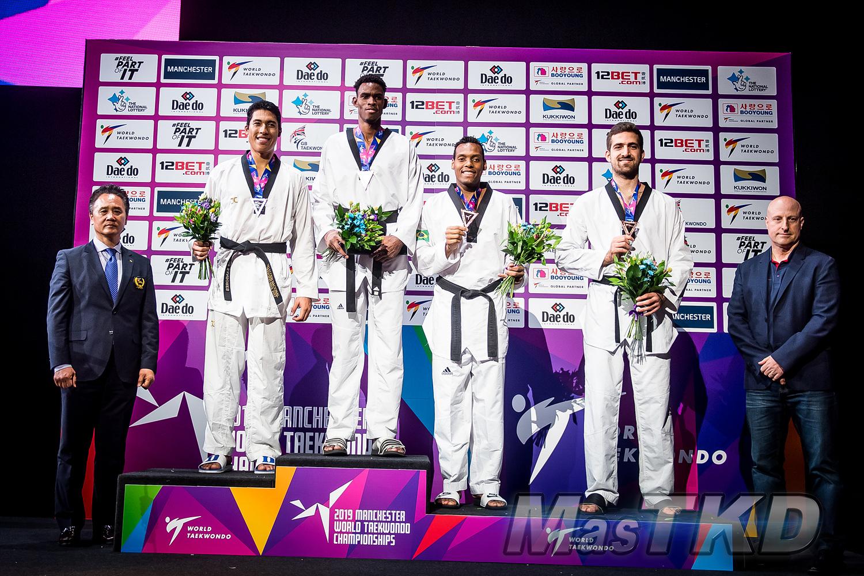 Podium_Mo87_Manchester-2019-World-Taekwondo-Championships_mT