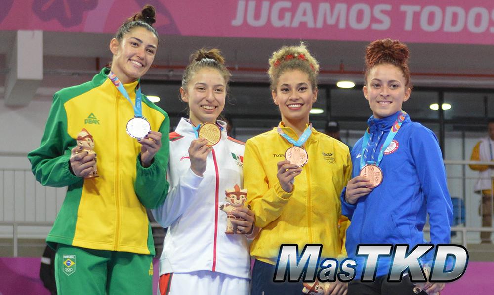 Podio-Kyorugi-FLY-Femenino-49kg_Taekwondo-Juegos-Panamericanos-Lima-2019