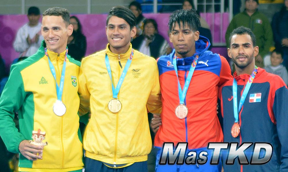 Podio-Kyorugi-WELTER-Masculino-80kg_Taekwondo-Juegos-Panamericanos-Lima-2019