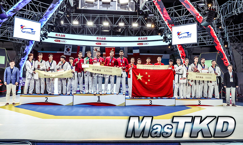 Podio_Equipo-Masculino_Wuxi-2019-WT-World-Cup-Team-Championships