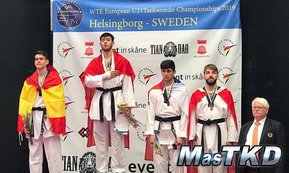 Podio_Mo87_WTE-European-Under-21-Championships_mT