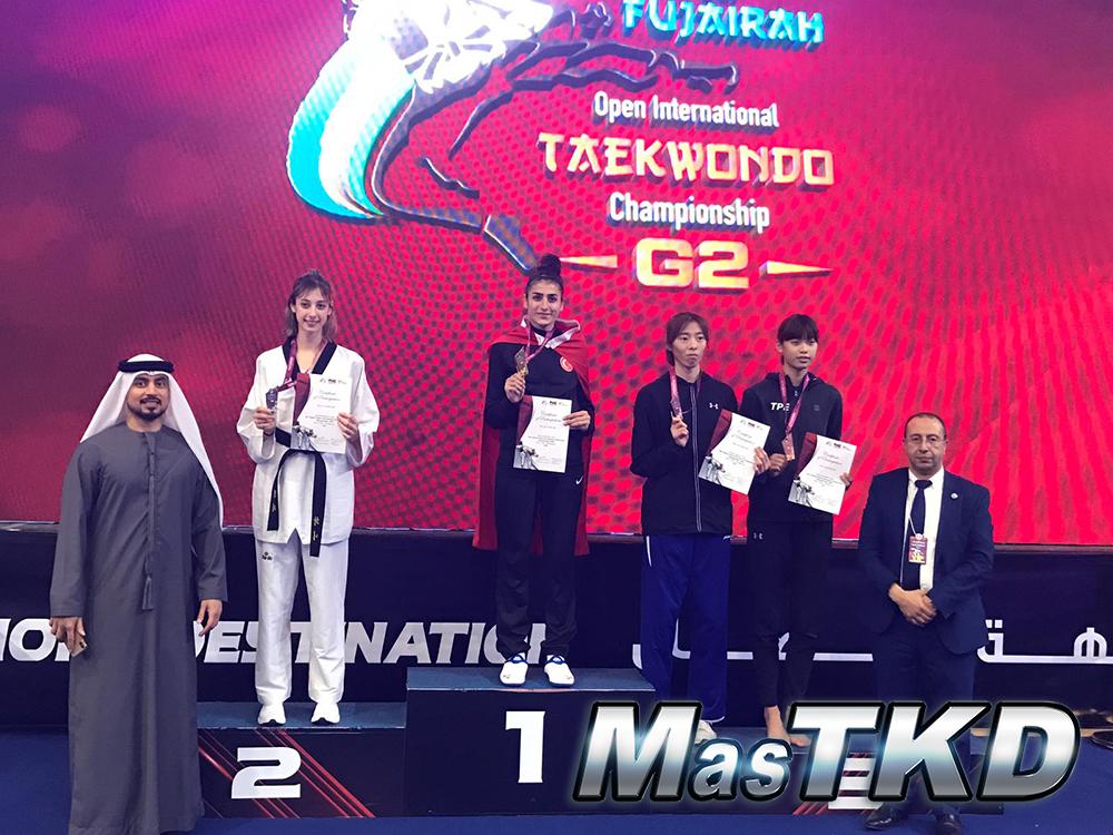 Podio_Taekwondo_WT_Fujairah-Open-2020