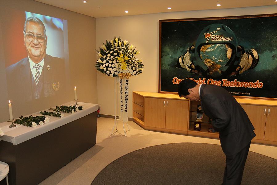 World Taekwondo pays respect to Gen. Ahmed Fouly