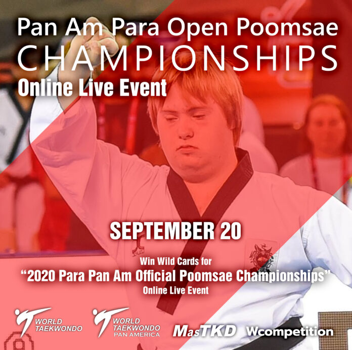 All Para-Athletes will have a discount for the next Pan Am Para Open Poomsae Championships