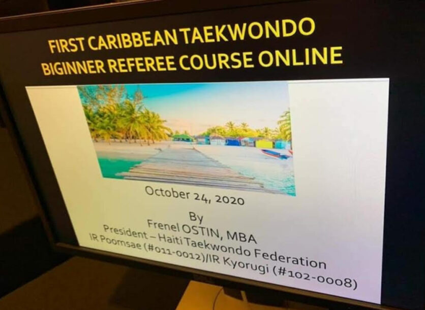 First Caribbean Online Referee Course successfully completed