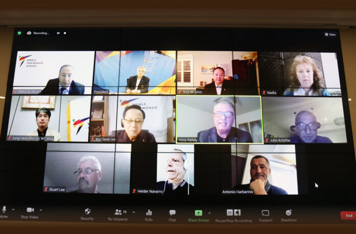 WT holds virtual meeting of Continental Unions