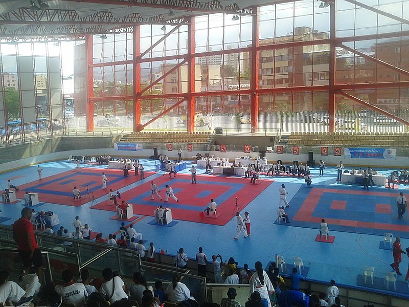 Coliseum Hockey Miguel Calero em Cali, Colômbia