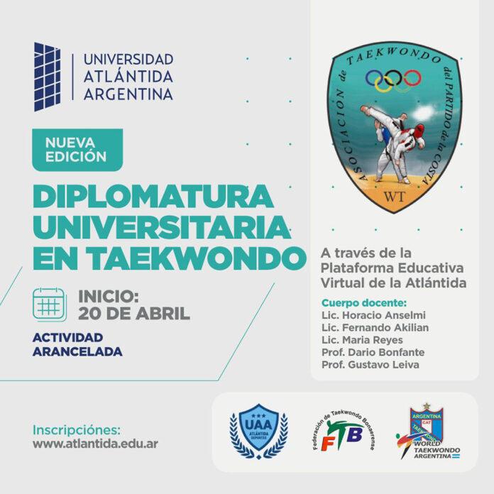 Comienza el Ciclo 2021 de la Diplomatura Universitaria en Taekwondo