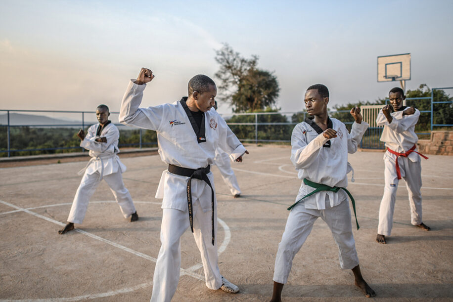 ParaTaekwondo's Hakizimana to Star on Refugee Paralympic Team