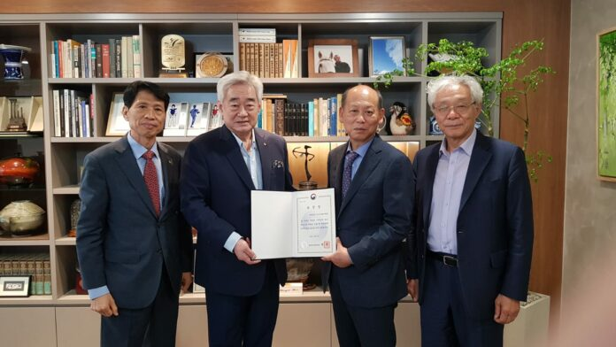 ADF Receives 'Taekwondo Day' Commendation from Minister of Culture, Sports and Tourism