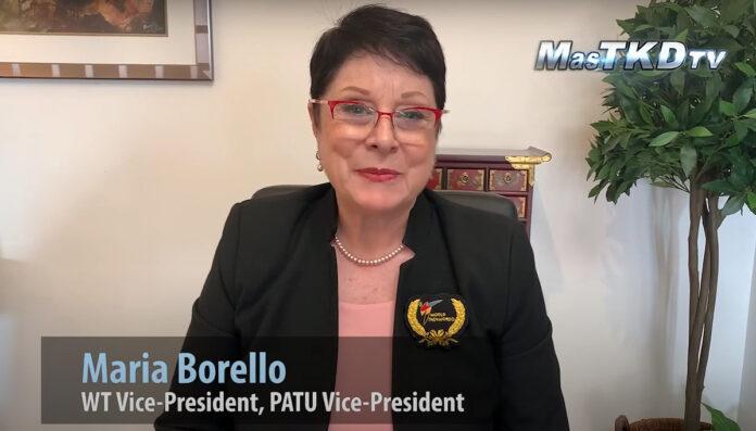 María Borello elected Vice President of World Taekwondo
